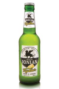 royal ionian radler beer lemon