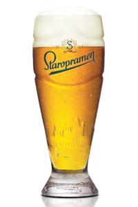 staropramen unfiltered whit beer